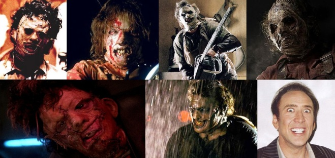 Leatherface through the ages...