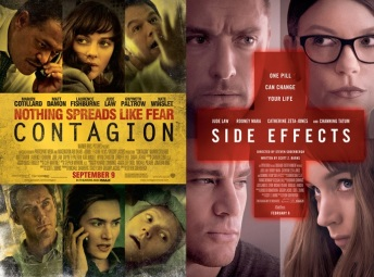 Contagion and Side Effects... effectively sister films!