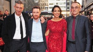 Cassel, McAvoy (with Macbeth beard), Dawson and Boyle - the key to the film's success.