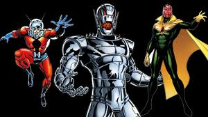 Ant-Man, Ultron and The Vision... surely all three can't fit?!