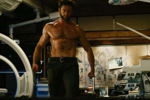 Hugh Jackman... 45, and still ripped. Impressive work, bub.